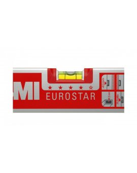 Poziomica aluminiowa 80cm BMI EUROSTAR 80 17-108-20