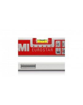 Poziomica aluminiowa magnetyczna 60cm BMI EUROSTAR MAGNET 60 17-106-21