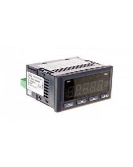 Cyfrowy miernik tablicowy (programowalny) 96x48mm 0-10V 0-20mA 0-60mV R, Pt, 2 wej. przekaźnikowe N30U 100000P0
