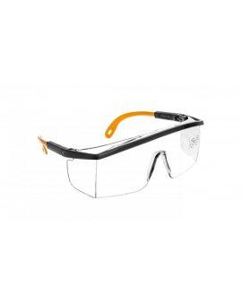 Okulary ochronne z poliwęglanu jednoczęściowe bezbarwne KILIMANDJARO KILIMGRIN