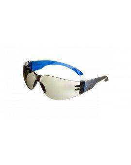 Okulary ochronne z poliwęglanu przydymione odblaskowe UV400 BRAVA2 MIRRROR BRAV2FF