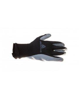 Rękawice dziane z poliestru powlekane nitrylem szaro-czarne rozmiar 9 VE712GR VE712GR09