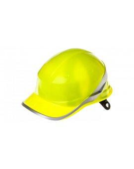 Hełm budowlany żółty z ABS, rozmiar regulowany DIAM5JAFL