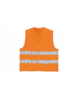 Kamizelka ostrzegawcza XXL pomarańczowa fluorescencyjna GILP2ORXX