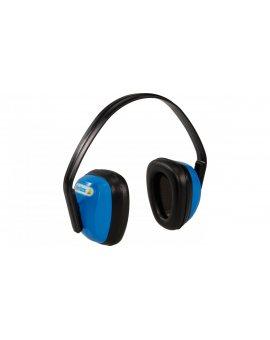 Nauszniki ochronne przeciwhałasowe niebiesko-czarne SNR 28dB SPA3BL