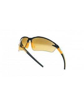 Okulary ochronne z poliwęglanu czarny/pomarańczowy FUJI2NOOR