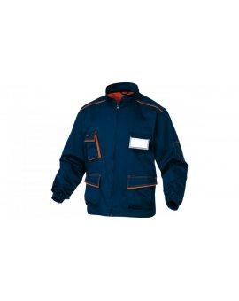 Bluza robocza z poliestru i bawełny miejsce na identyfikator granatowo- pomarańczowa rozmiar M M6VES M6VESBMTM