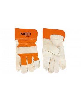 Rękawice robocze skóra bydlęca licowa rozmiar 10, 5 97-602
