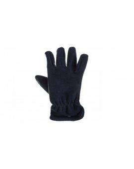 Rękawice z polaru poliestru uniwersalne granatowe NEVEBM