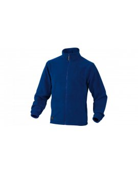 Bluza z polaru poliestru, 280G niebieska rozmiar M VERNOBRTM