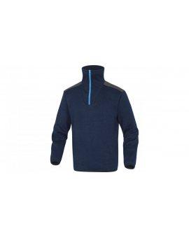 Bluza polarowa imitacja swetra kolor granatowy rozmiar XXL MARMOBMXX