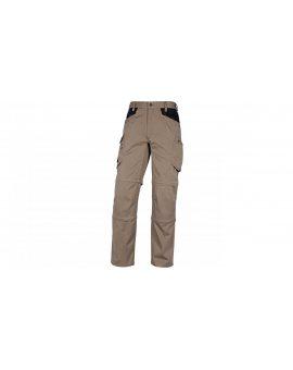 Spodnie mach5 z poliestru i bawełny kolor beżowy rozmiar 3XL M5SPABE3X