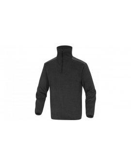 Bluza polarowa imitacja swetra kolor szary rozmiar 3XL MARMOGR3X