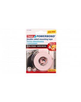 Taśma montażowa POWERBOND super mocna 1, 5m 19mm 55791-00003-01
