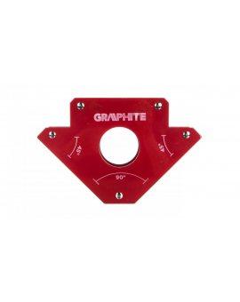 Spawalniczy kątownik magnetyczny 122 x 190 x 25 mm udźwig 34.0 kg 56H903