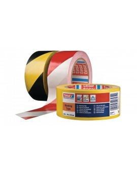 Taśma ostrzegawcza PVC 33m 50mm żółta 60760-00095-15