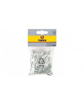 Nity aluminiowe 4, 8x18 mm 43E505 /50 szt./