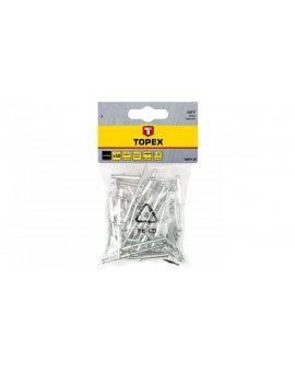Nity aluminiowe 4x12, 5 mm 43E403 /50 szt./