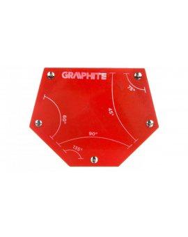 Spawalniczy kątownik magnetyczny 111 x 136 x 24 mm udźwig 34.0 kg 56H905
