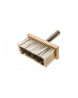 Pędzel ławkowiec 150 x 70 mm korpus drewniany trzonek z plastiku włos - polipropylen 19B116