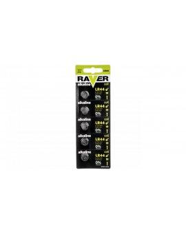 Bateria alkaliczna RAVER LR44 /blister 5szt./ B7970