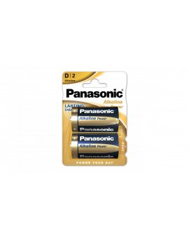 Bateria alkaliczna LR20 / D 1, 5V /blister 2szt./