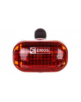 Lampka rowerowa tylna LED 2xAAA /3 tryby świecenia/ XC-714T P3910