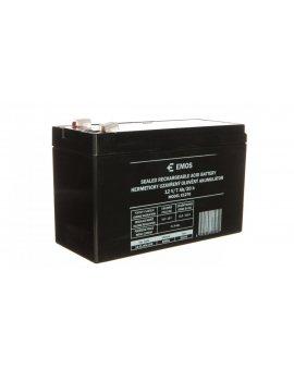 Akumulator ołowiowy AGM 12V 7Ah F4, 7 B9691