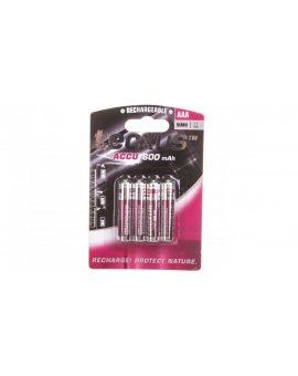 Akumulator Ni-MH HR03 / AAA 600mAh 14112 /4szt./