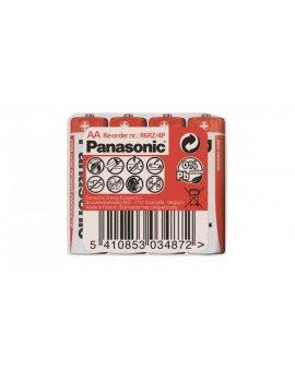 Bateria cynkowo-węglowa R6 / AA 1, 5V /foliowane 4szt./