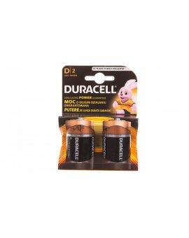 Bateria alkaliczna LR20 / D Basic DURACELL 4520114 /2szt./