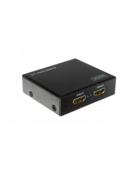 Rozdzielacz/Splitter HDMI 4K Ultra HD 3D, HDCP, 1/2-portowy DS-46304