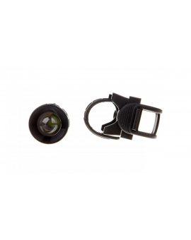 Latarka metalowa LED 3W 120lm /z zoomem i uchwytem/ czarna P3839