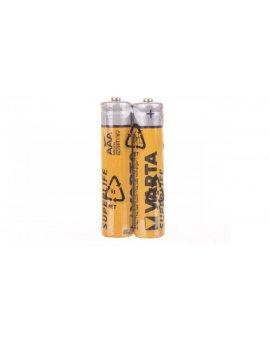Bateria cynkowo-węglowa R03P / AAA /foliowane/ SUPERLIFE /2szt./