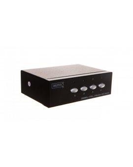 Przełącznik/Switch VGA 250MHz, 1280x1024p, 1/4-portowy DS-45100-1