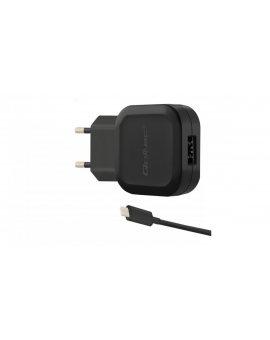 Ładowarka sieciowa 12W 5V 2.4A 1xUSB+kabel USB typC 50184
