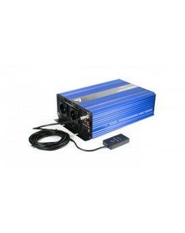 Przetwornica napięcia 24 VDC / 230 VAC SINUS IPS-3000S 3000W