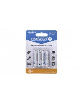 Zestaw akumulatorków everActive Professional line EVHRL03-1050 (1050mAh Ni-MH LSD)