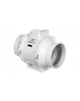 Wentylator kanałowy fi 160 230V 552m3/h 60W o przepływie mieszanym 160mm TT160