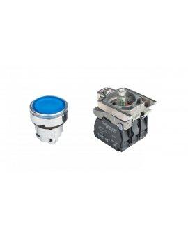 Przycisk sterowniczy 22mm niebieski z samopowrotem z podświetleniem 1Z 1R XB4BW36B5