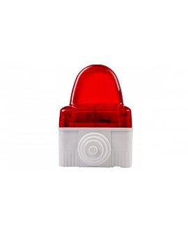 Lampa sygnalizacyjna błyskowa czerwona GW27422