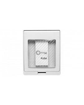 Przycisk wyjścia natynkowy, IP55, NO/COM, PVC, wodoodporny YPW8