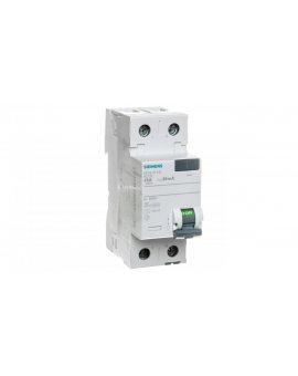 Wyłącznik różnicowoprądowy 2P 25A 0, 03A typ AC 5SV4312-0
