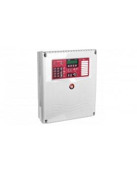 Centrala Sygnalizacji Pożaru (CSP), konwencjonalna, 8 linii, Satel CSP-208