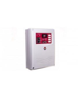 Konwencjonalna centrala sygnalizacji pożaru, 4 linie dozorowe, bez wyświetlacza LCD, CNBOP, Satel CSP-104