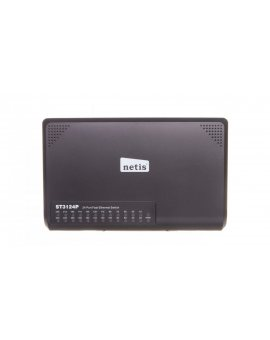 Switch 24-porty 10/100Mb DESKTOP, ST3124P NETIS