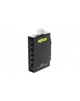 Switch przemysłowy ECO 5 portów 100Mbit 100BASETX 852-111