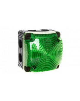 Sygnalizator ostrzegawczy zielony 24V DC LED stały IP66 853.200.55
