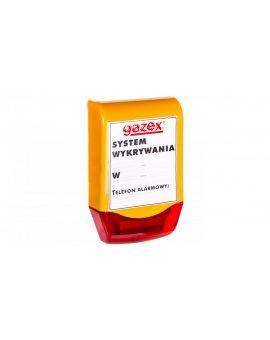 Sygnalizator optyczno-akustyczny do modułów sterujących MD lub detektorów WG/ AirTECH SL-21