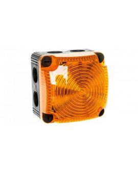 Sygnalizator ostrzegawczy żółty 24V DC LED stały IP65 853.300.55